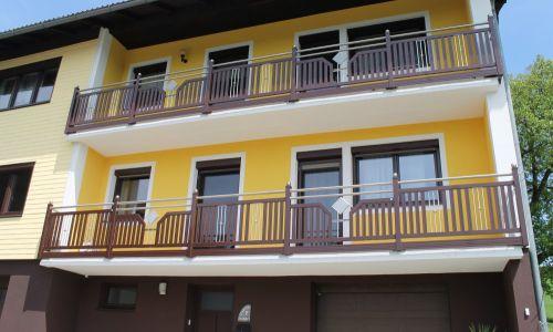 Balkon Alu / Edelstahl