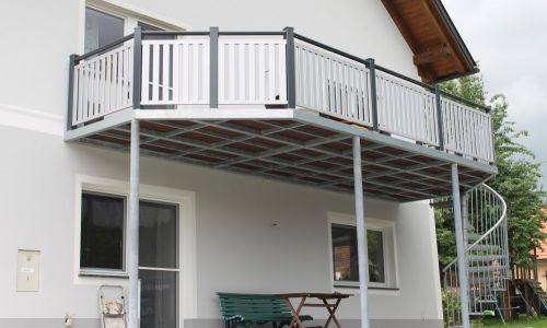 Balkonanlage Alu