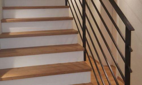 Treppengeländer Schwarz