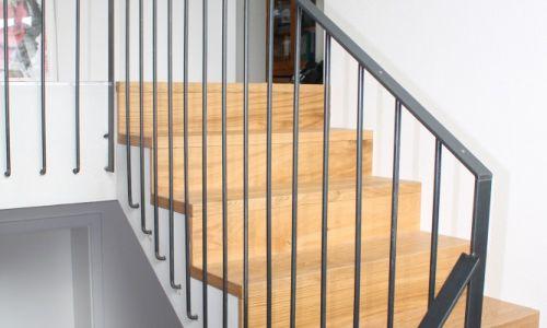 Treppengeländer Stahl