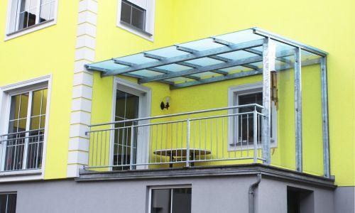 Glasüberdachung 1